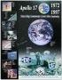 1997 Cernan Signed Apollo 17 Anniversary Poster