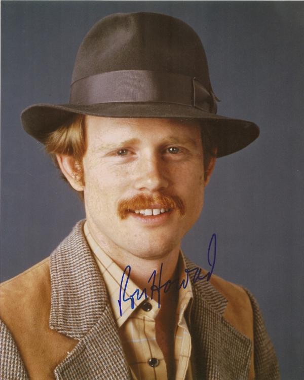 Ron Howard signed 8x10