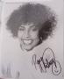 Whitney Houston signed 10x8 photograph